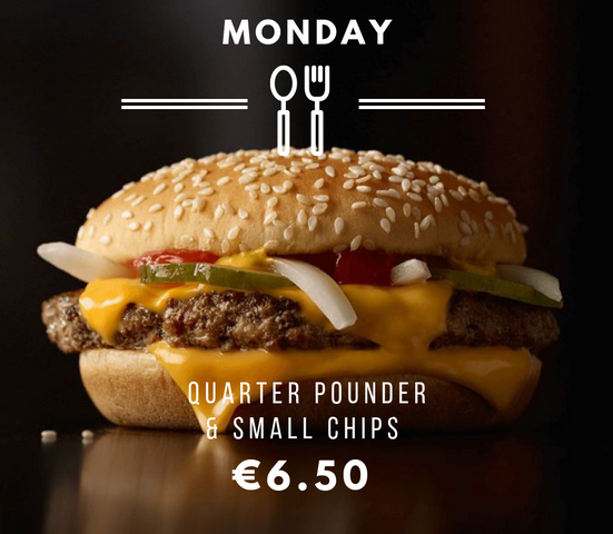 Silvio's Monday Quarter Pounder Special