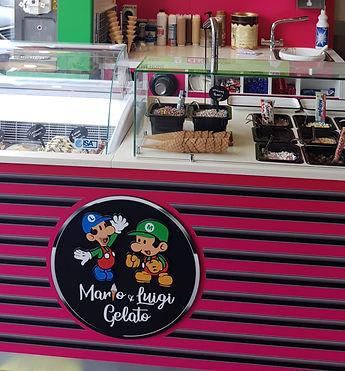 Mario & Luigi Gelato