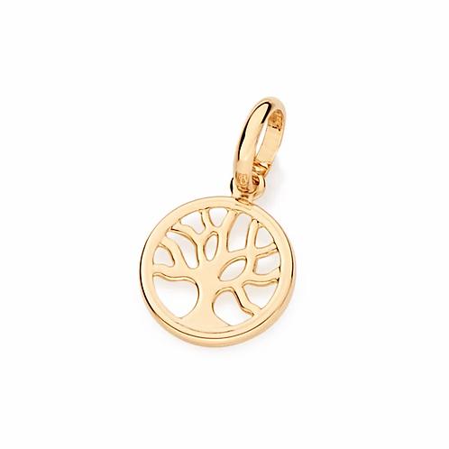 Pingente folheado a ouro árvore da vida - tam.único 5418800000