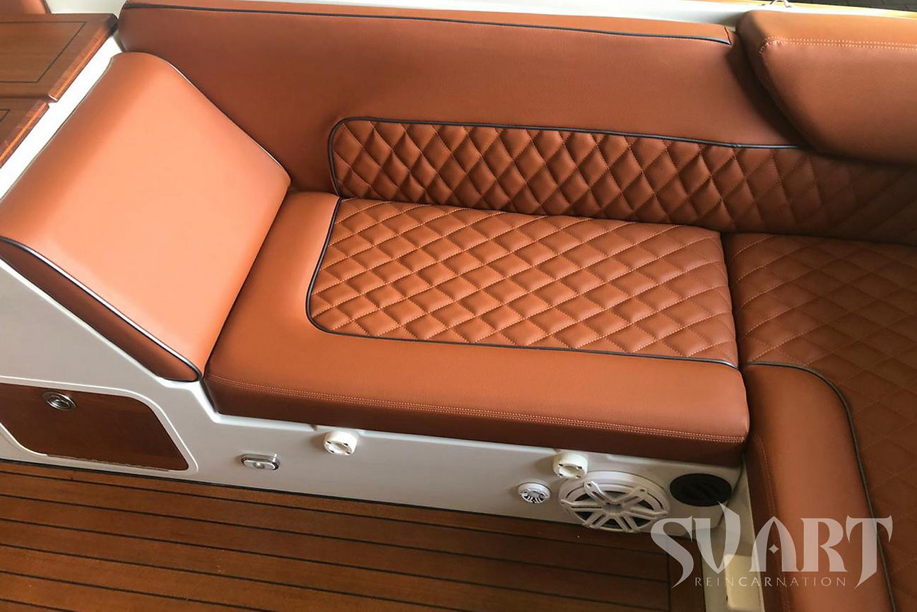 перетяжка яхты катера лодки