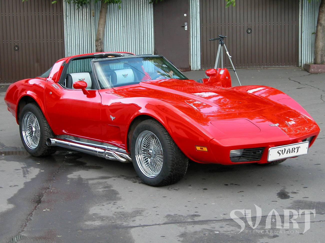 Corvette С3 тюнинг