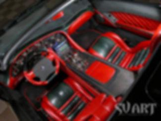Lamborghini тюнинг салона