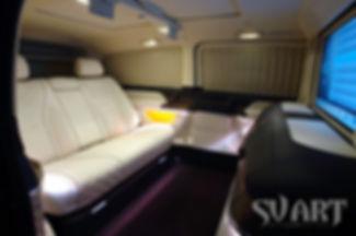 микроавтобус вип люкс салон