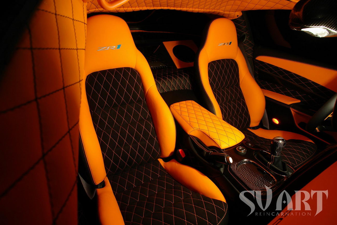 перетяжка corvette