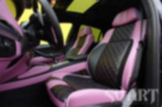 BMW X6M перетяжка кожей