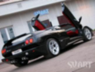 Lamborghini svart
