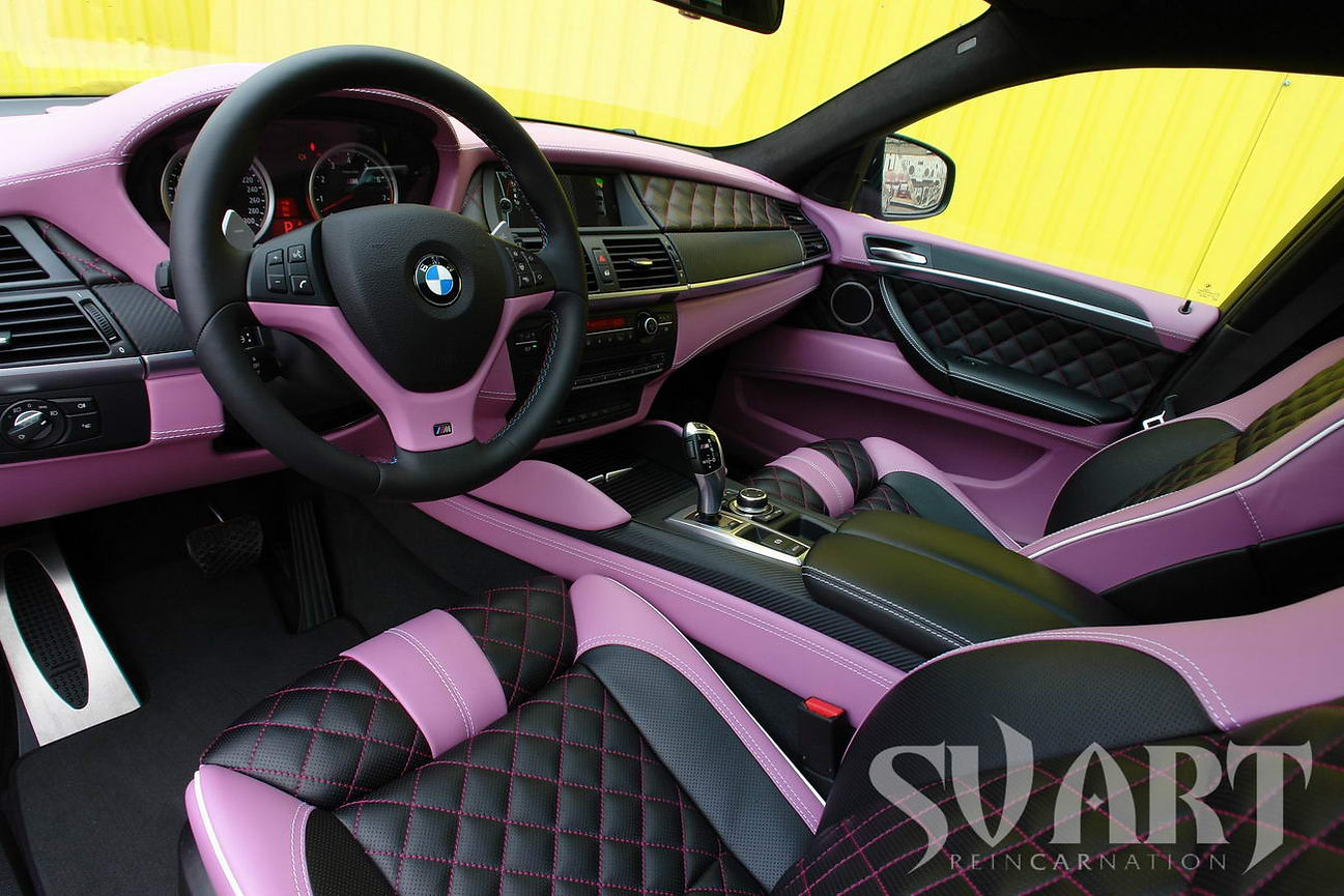 BMW X6M перетяжка салона