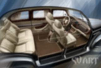 дизайн проект салона авто