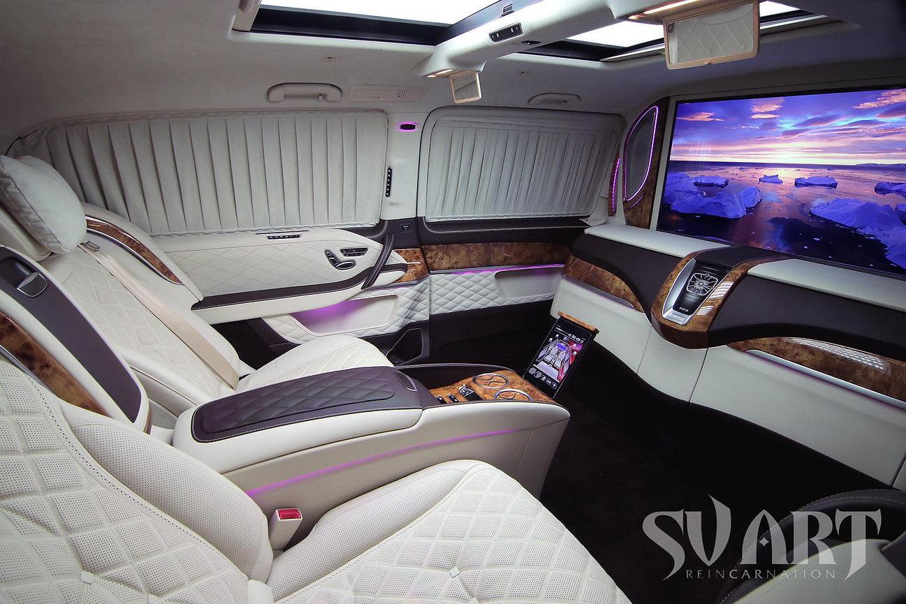 Mercedes v class vip