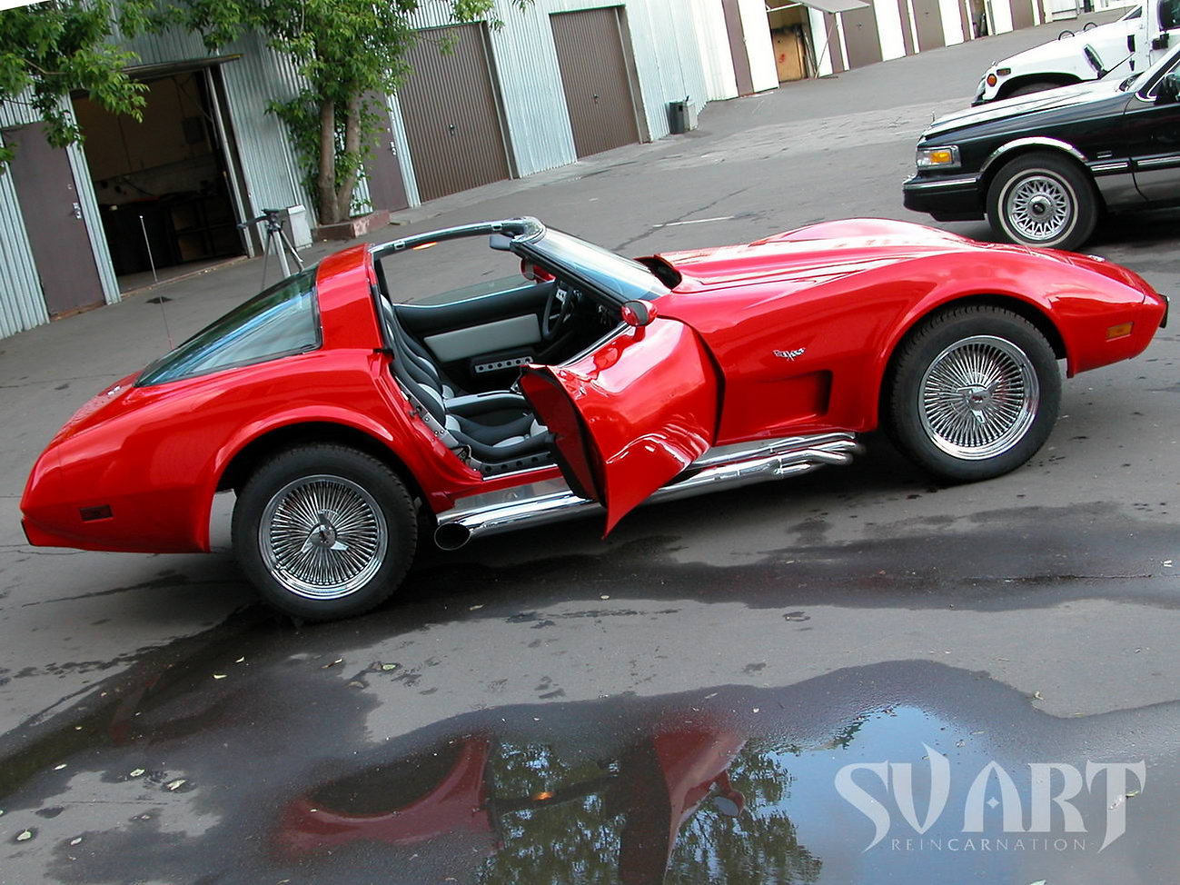 Chevrolet stingray c3 тюнинг