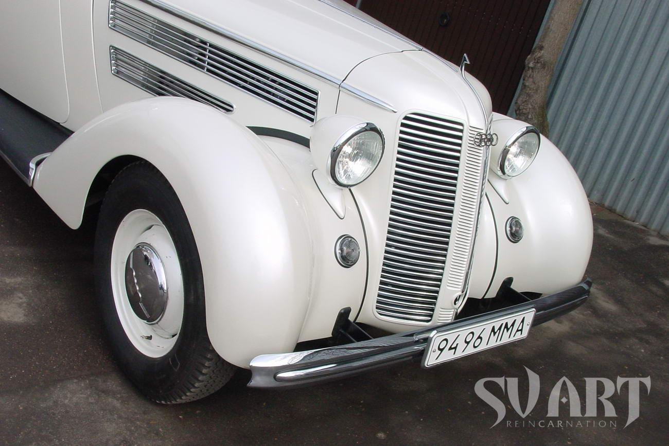 реставрация старинного автомобиля
