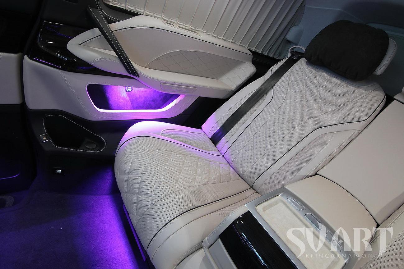 vip диван в автомобиль