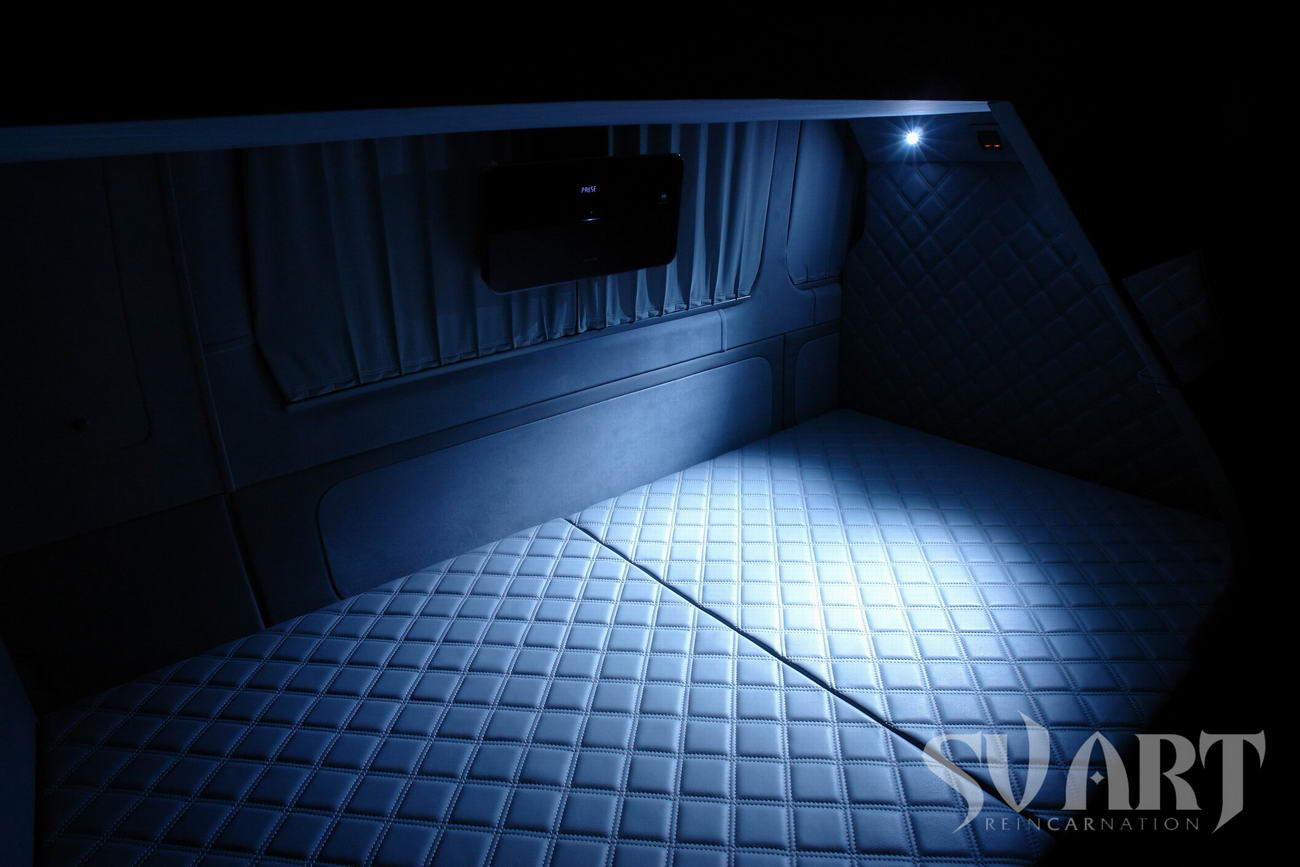 sprinter спальное место