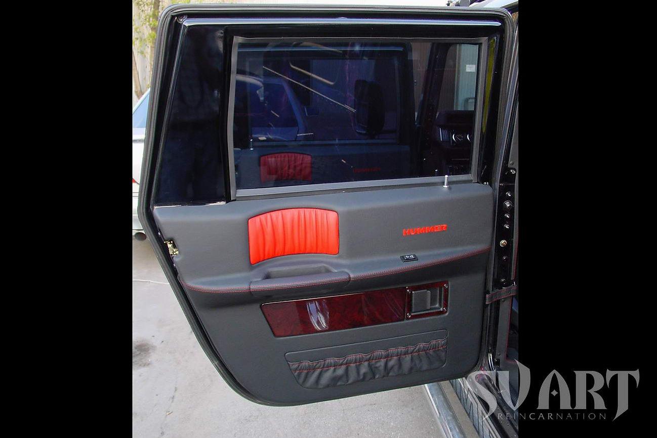 Hummer H1 обшивка