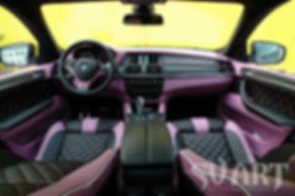 BMW X6M пошив салона