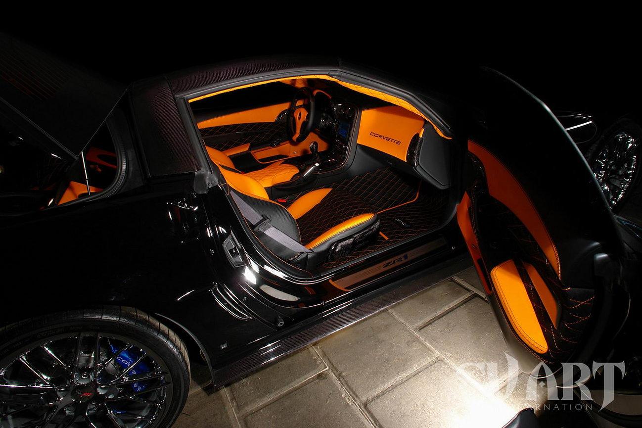 салон corvette