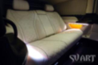 микроавтобус кожаный салон люкс