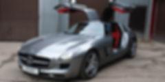 Перетяжка салона Mercedes Benz.jpg