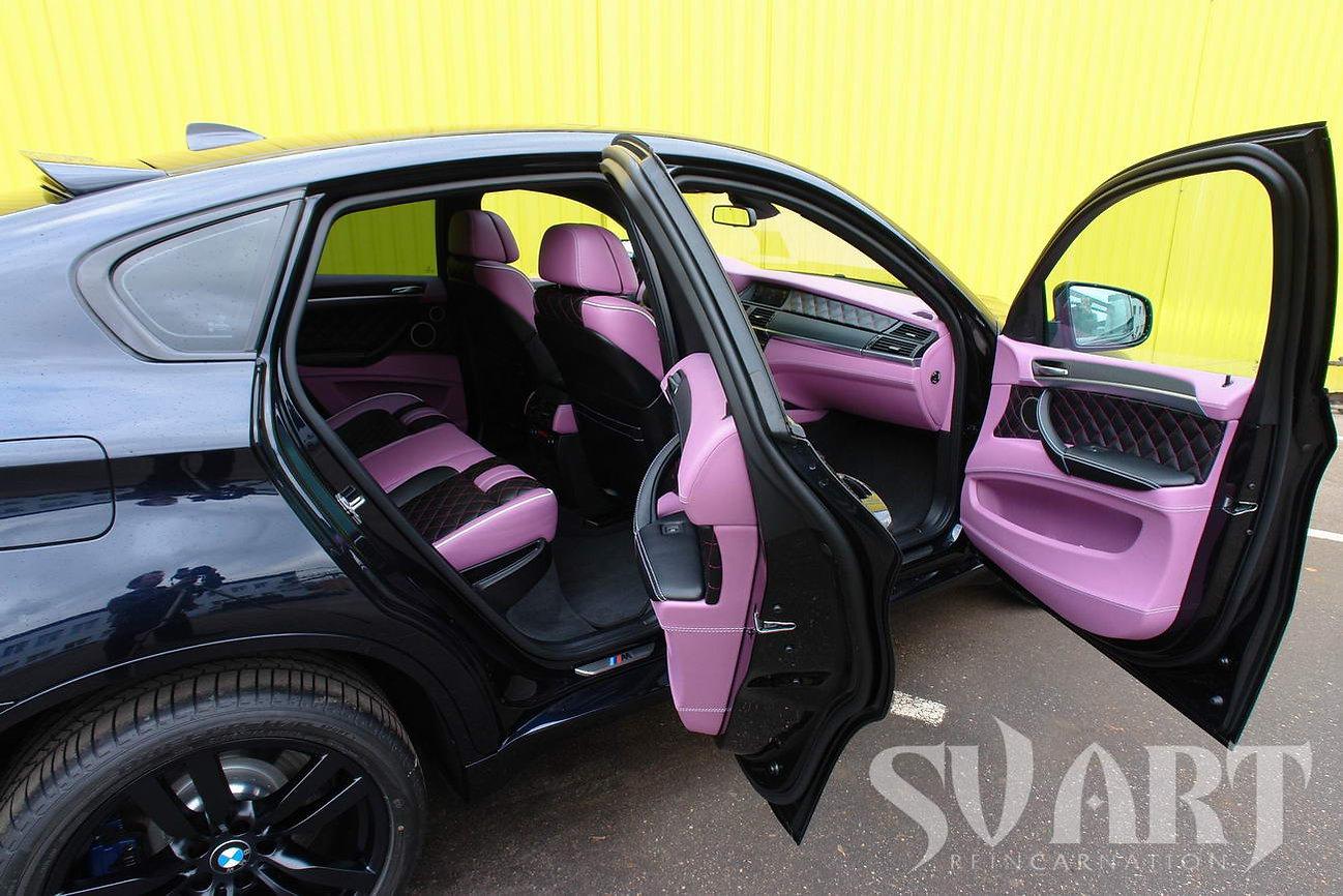 BMW X6M салон