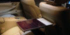 столик в автомобиле