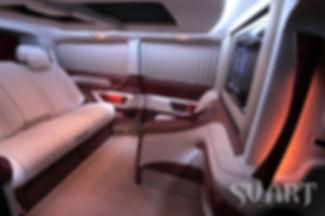 эксклюзивный интерьер микроавтобуса