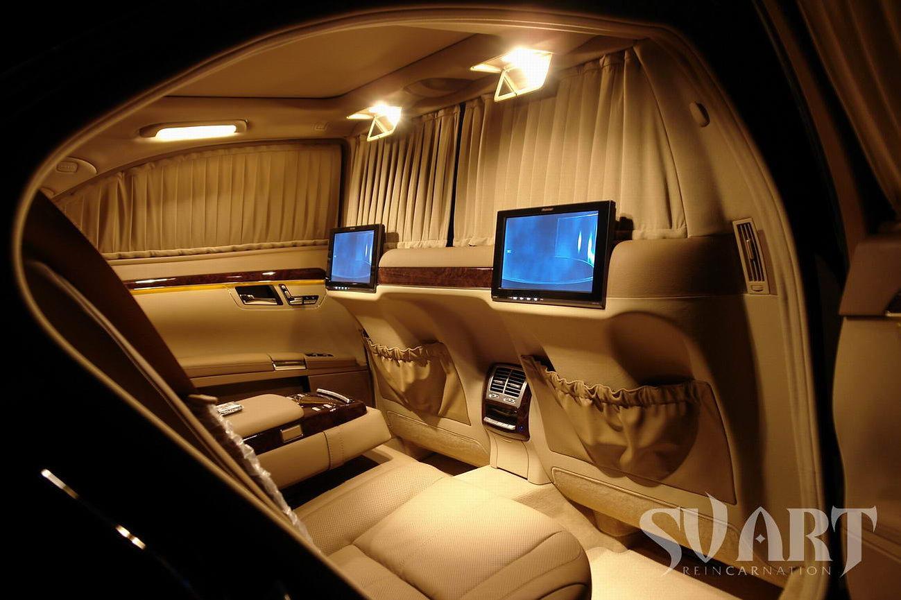 Mercedes S class перегородка