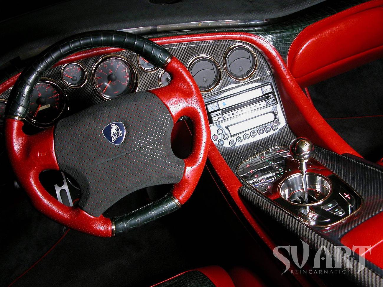 Lamborghini переделка салона