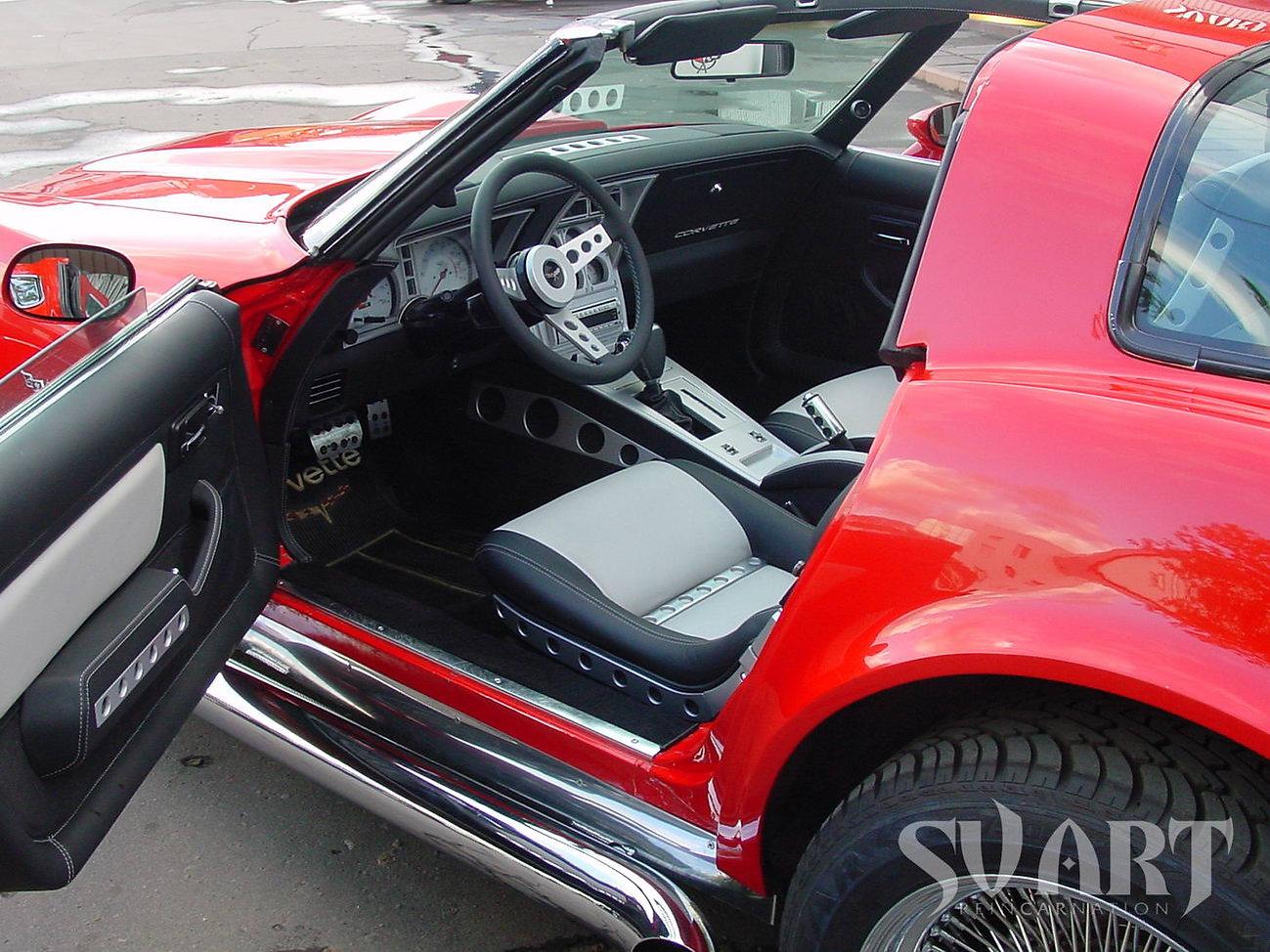 corvette c3 тюнинг салона