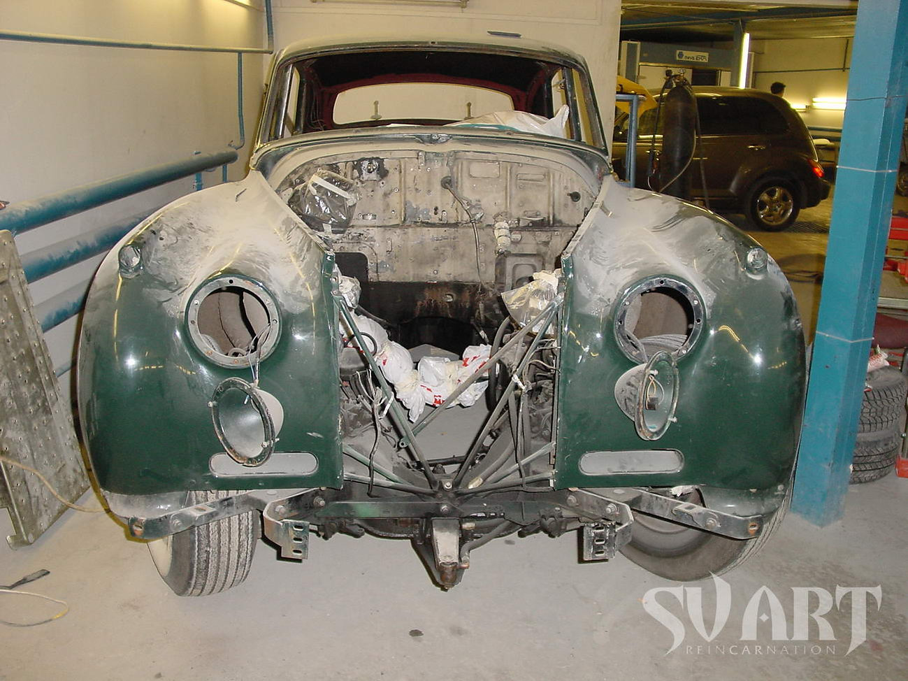 реставрация кузова ретро машины