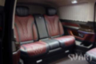 установка дивана от W222 в W447