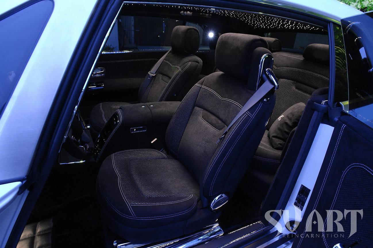 Rolls Royce салон