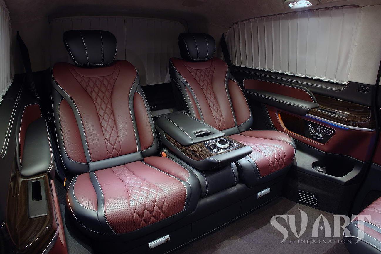 установка дивана от S класса
