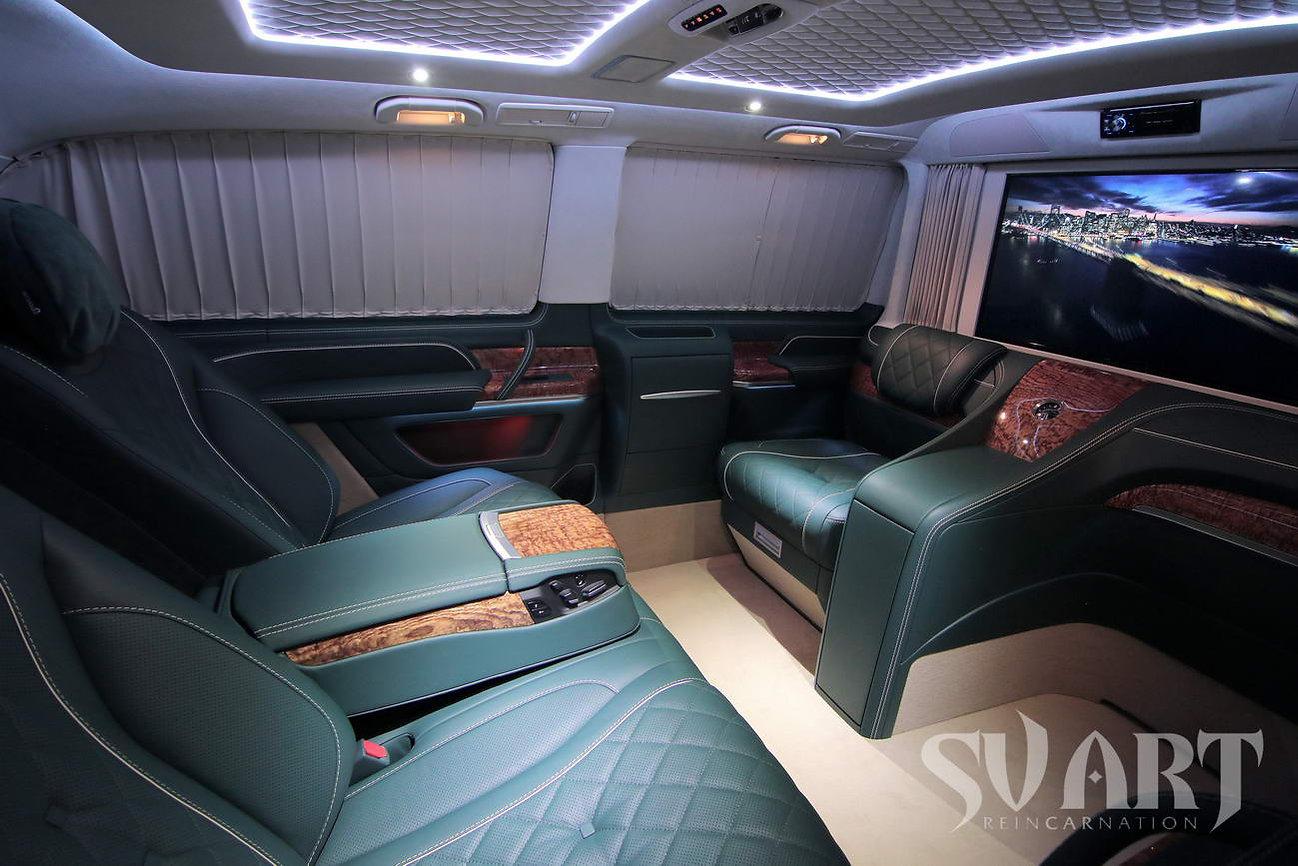 v class luxury interior tuning