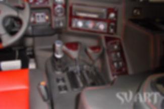 Hummer H1 перетяжка салона