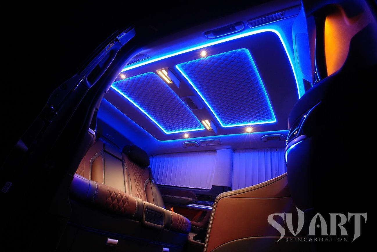 светодиодная подсветка потолка виано
