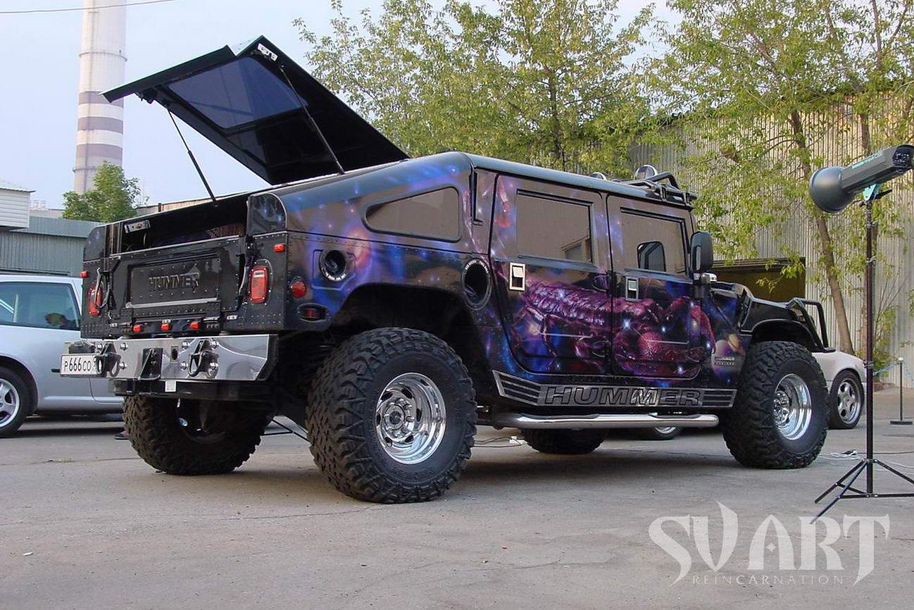 Hummer H1 покраска