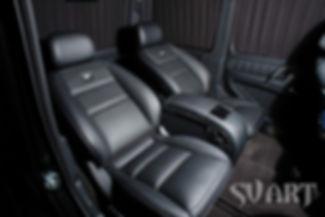 Гелендваген комфортные сиденья