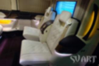 переделка салона микроавтобуса в вип