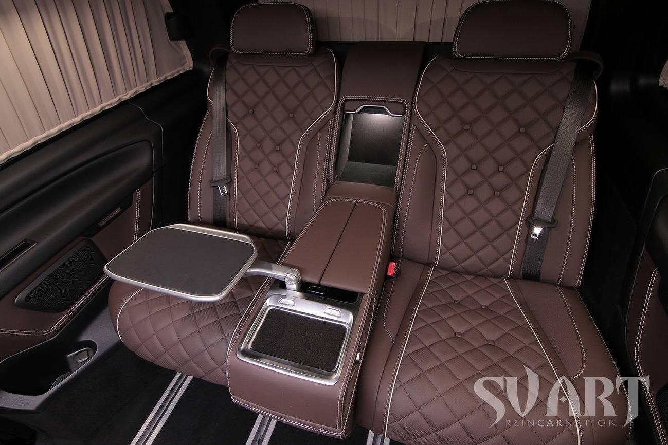 комфортный диван в микроавтобус