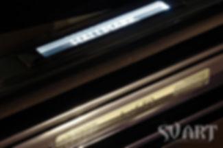 Bentley mulsanne hallmark svart tuning