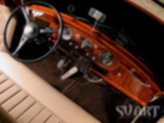 реставрация салона ретро машины