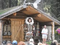 Native Alaskan Village stop