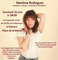 Marlene Rodriguez - Invitation Fete de l