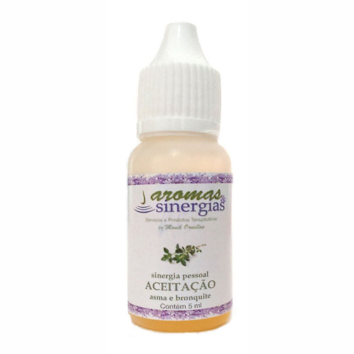 Sinergia Aceitação (Inalação p/ bronquite e asma)