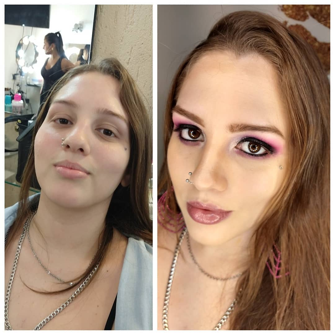 Antes e Depois - Colorida