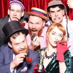 bygone wedding hire photo booth glasgow