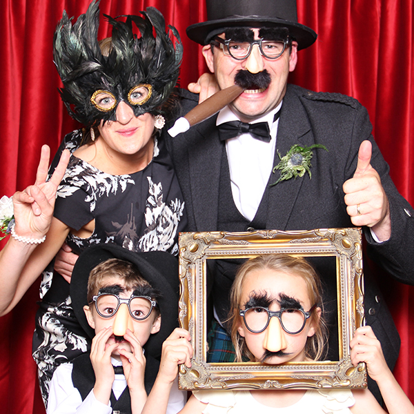 bygone booth glasgow photo booth hire