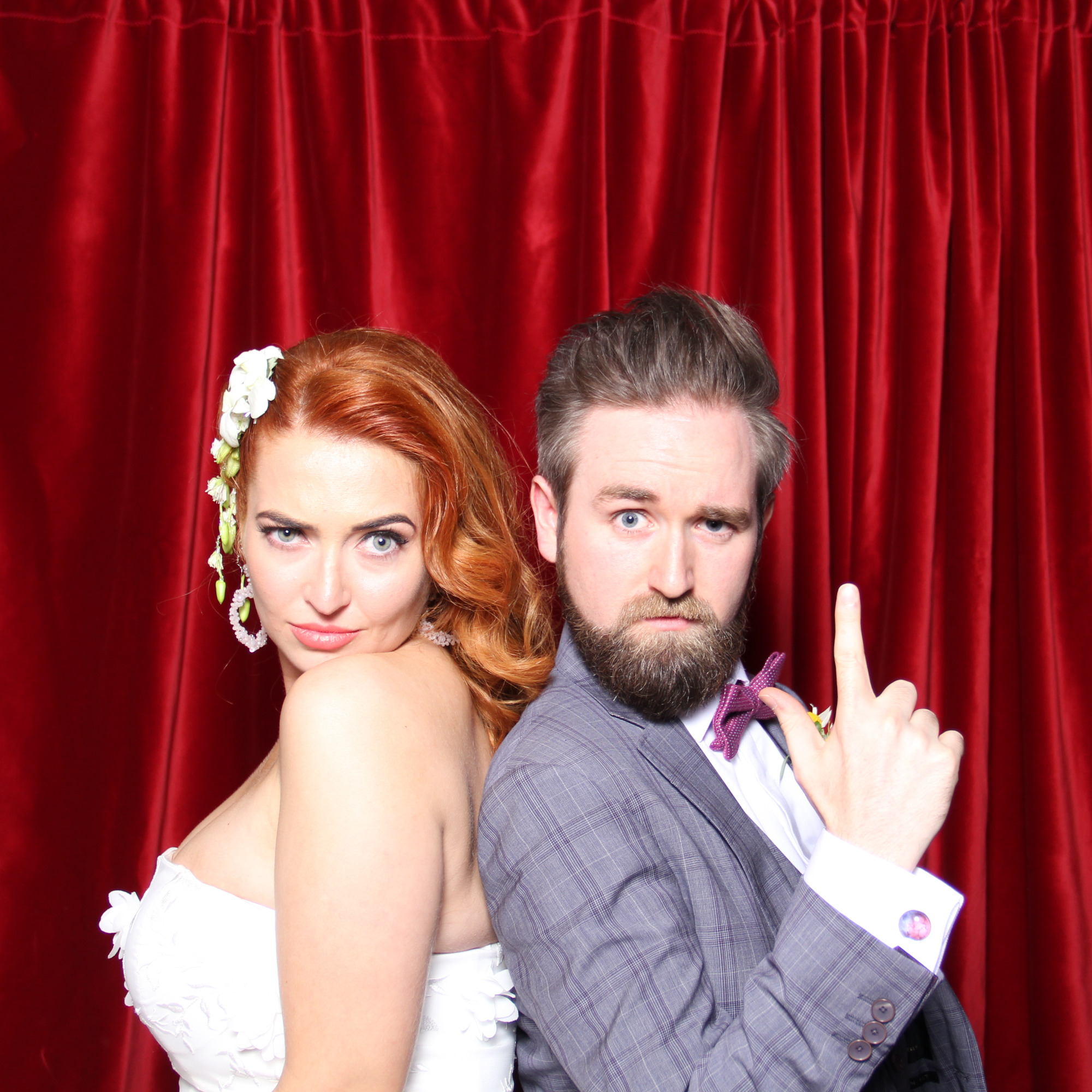 bygone wedding photo booth hire glasgow