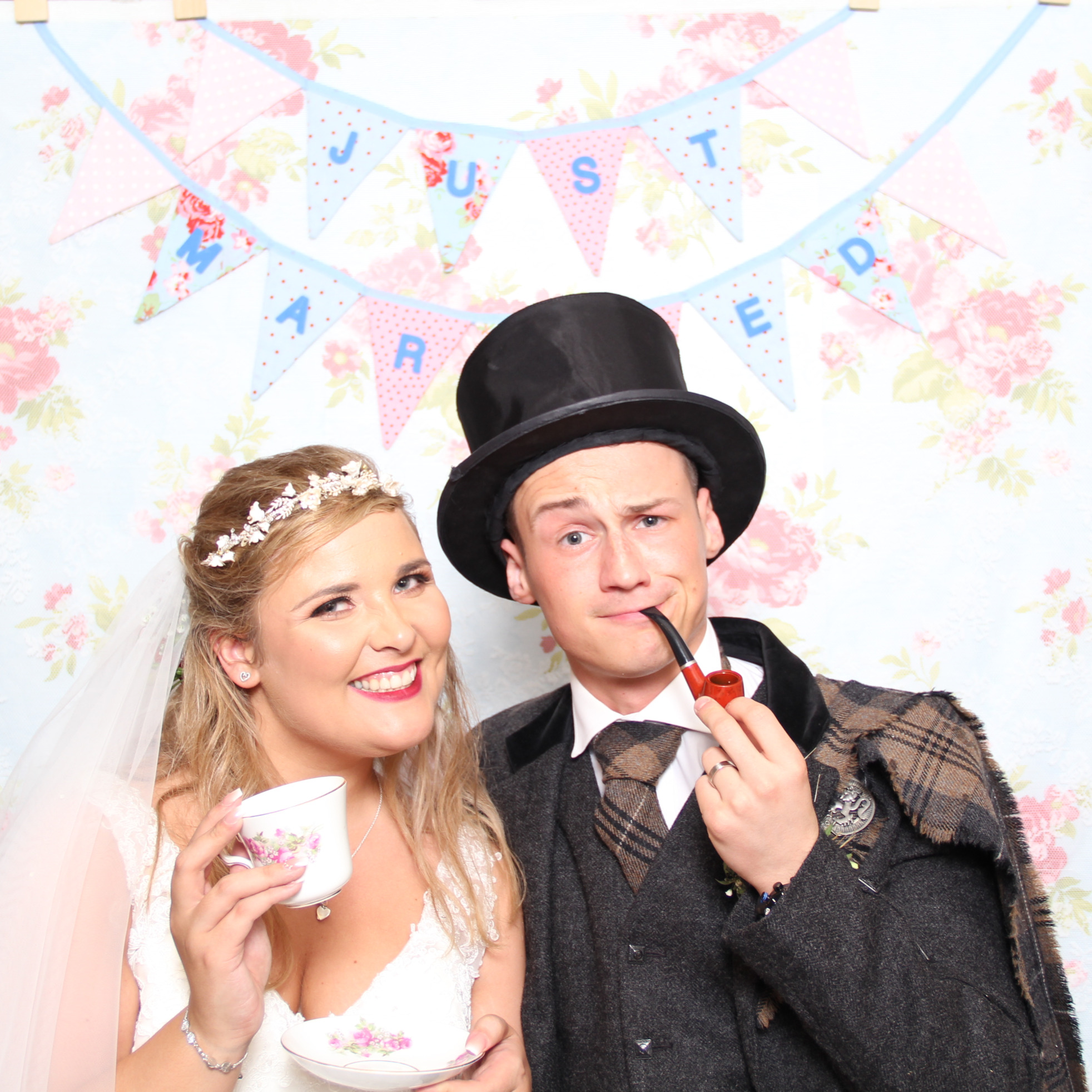 bygone wedding hire photo booth