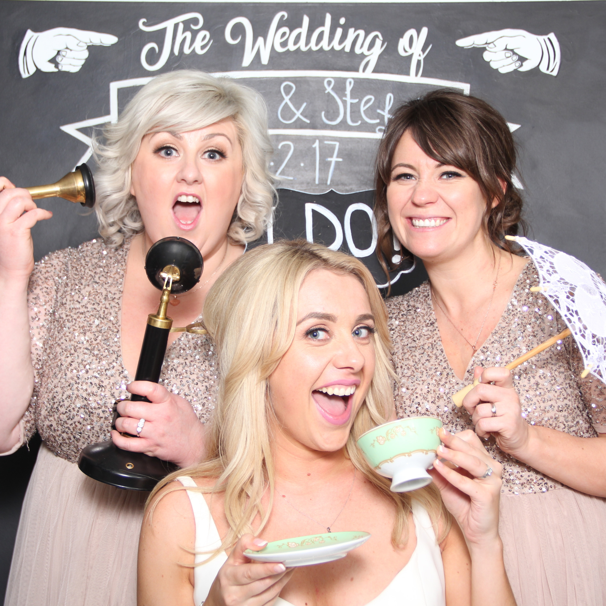 bygone wedding- photo booth hire glasgow